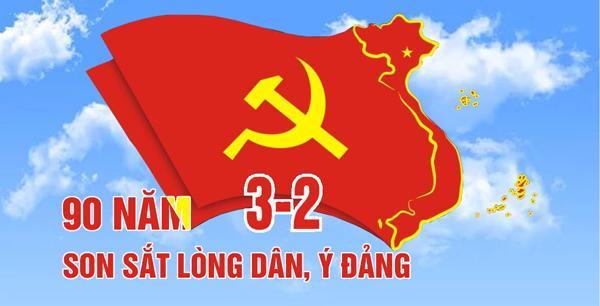 90 năm son sắt lòng dân, ý Đảng