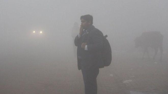 Delhi trải qua ngày lạnh nhất kể từ năm 1901 - Ảnh: Getty Images