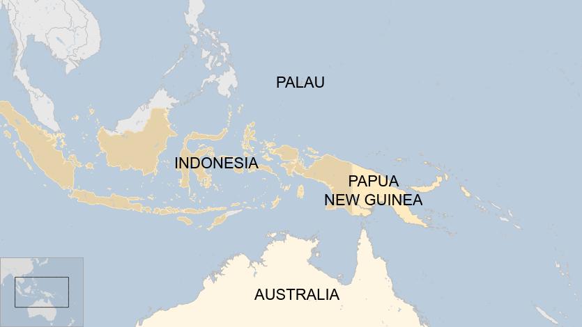 Palau là một quốc đảo nhỏ nằm phía đông vùng biển của Philippines.