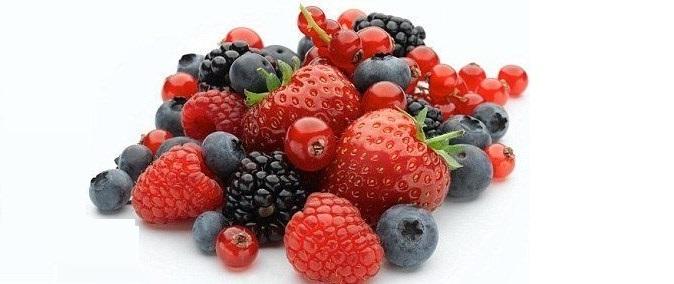 Các loại quả mọng như: dâu, mâm xôi, việt quất có chứa chất ôxy hóa phù hợp với người bị tiểu đường
