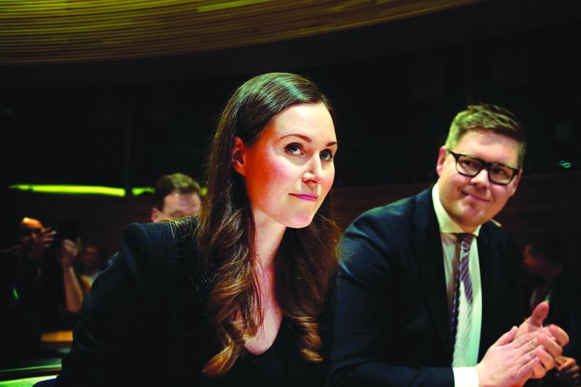 Thủ tướng Phần Lan Sanna Marin