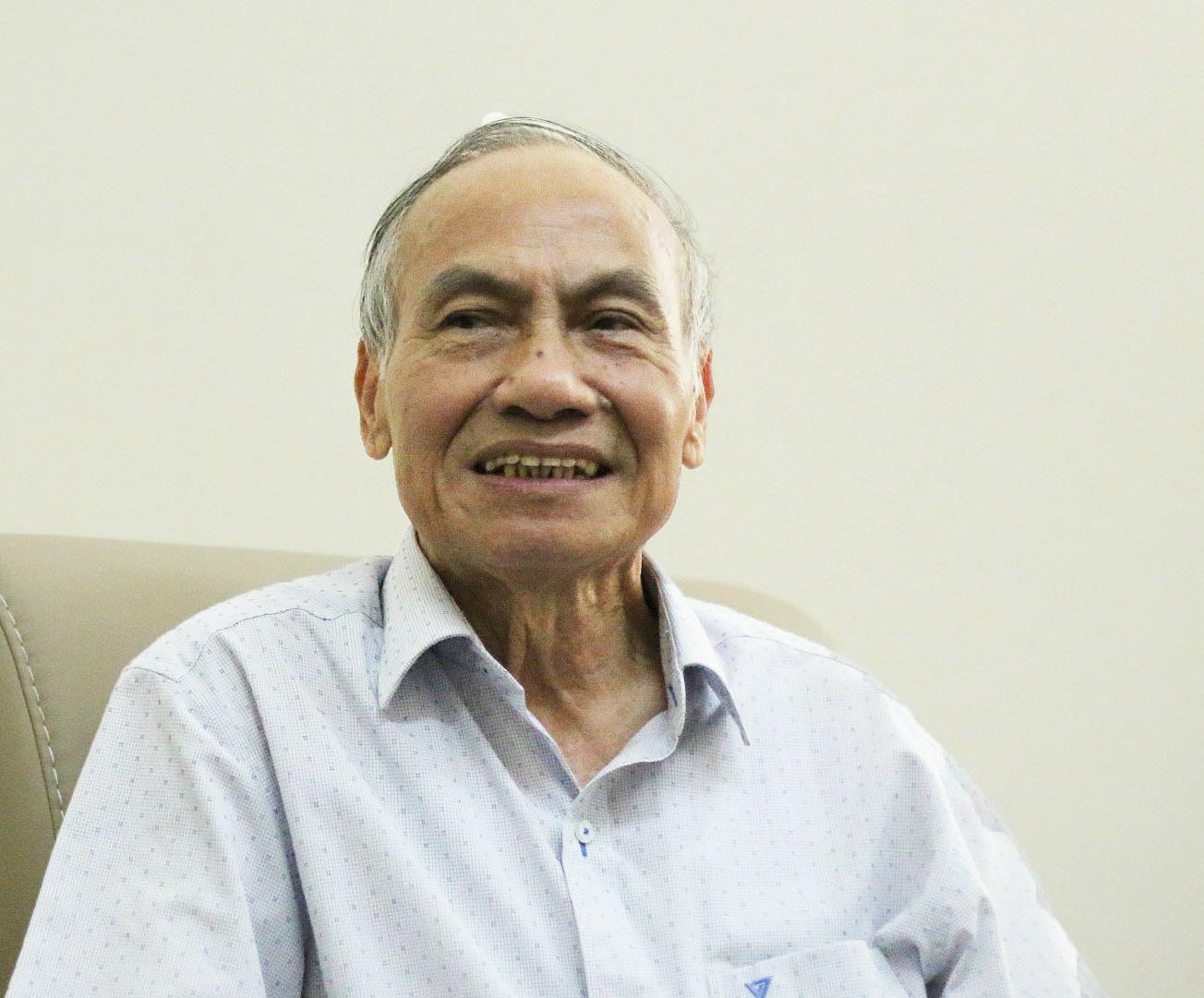 PGS. Nguyễn Kế Hào cho biết, ông sẽ tiếp tục có ý kiến lên cấp trên