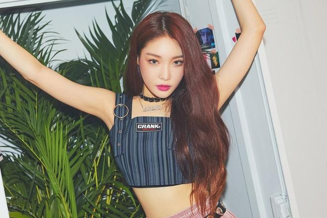 Chungha được mệnh danh là nữ ca sĩ solo thê sheej mới của làng giải trí Hàn Quốc.