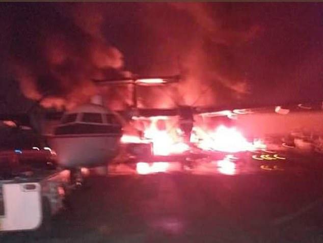 Nhóm Hồi giáo cực đoan al-Shabab tấn công một sân bay tại Kenya (ảnh) được sử dụng bởi lực lượng Mỹ vào sáng Chủ nhật 5/1.