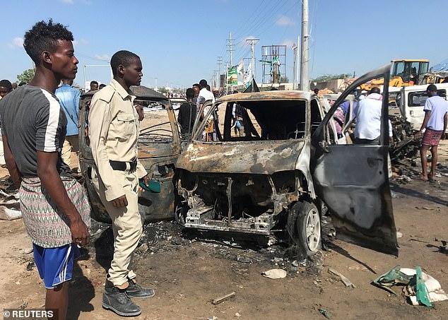 Vụ đánh bom xe tải tại thủ đô Somalia hôm 28/12 giết chết ít nhất 79 người, đa số là sinh viên.