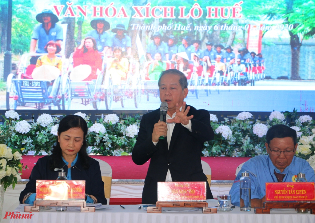 Ngày 6/1, ông Phan Ngọc Thọ chủ tịch UBND tỉnh Thừa Thiên Huế  đã có buổi gặp mặt với hơn 500 đoàn viên nghiệp đoàn xích lô và chủ xe xích lô trên địa bàn thành phố Huế để trao đổi, chia sẻ cũng như lắng nghe những tâm tư nguyện vọng của những người chọn xích lô làm phương tiện mưu sinh