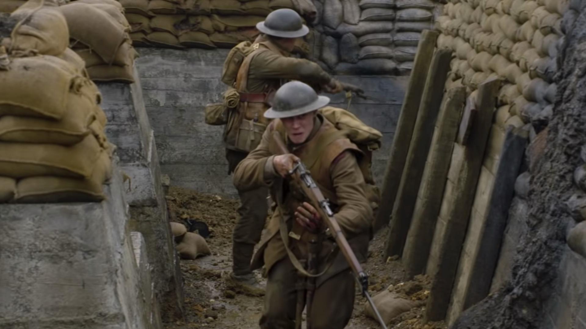 Hình ảnh trong bộ phim 1917