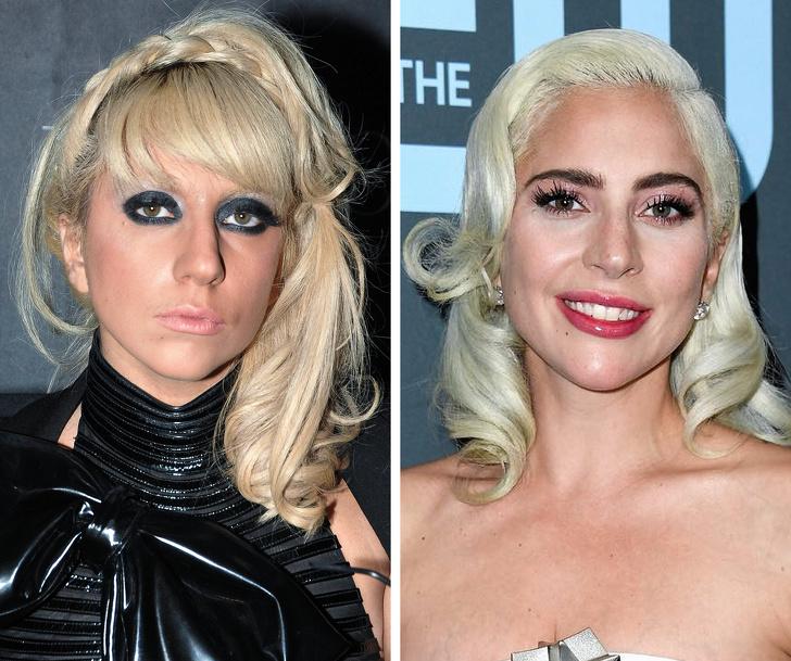 So với thời thích làm lố thì Lady Gaga của hiện tại xinh đẹp, sắc sảo và được khán giả yêu mến hơn nhiều.
