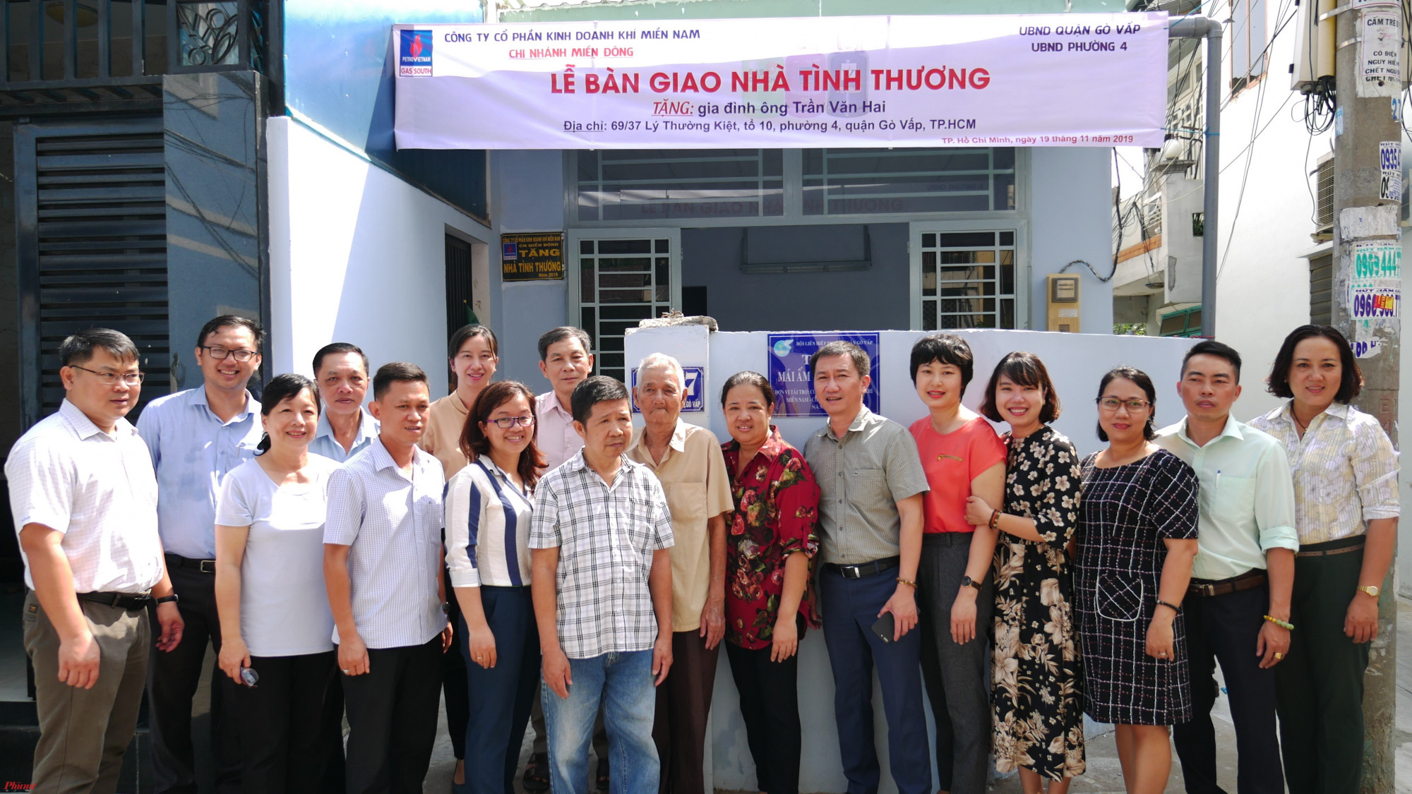 Hội LHPN quận Gì Vấp tặng mái ấm tình thương cho hội viên phụ nữ.