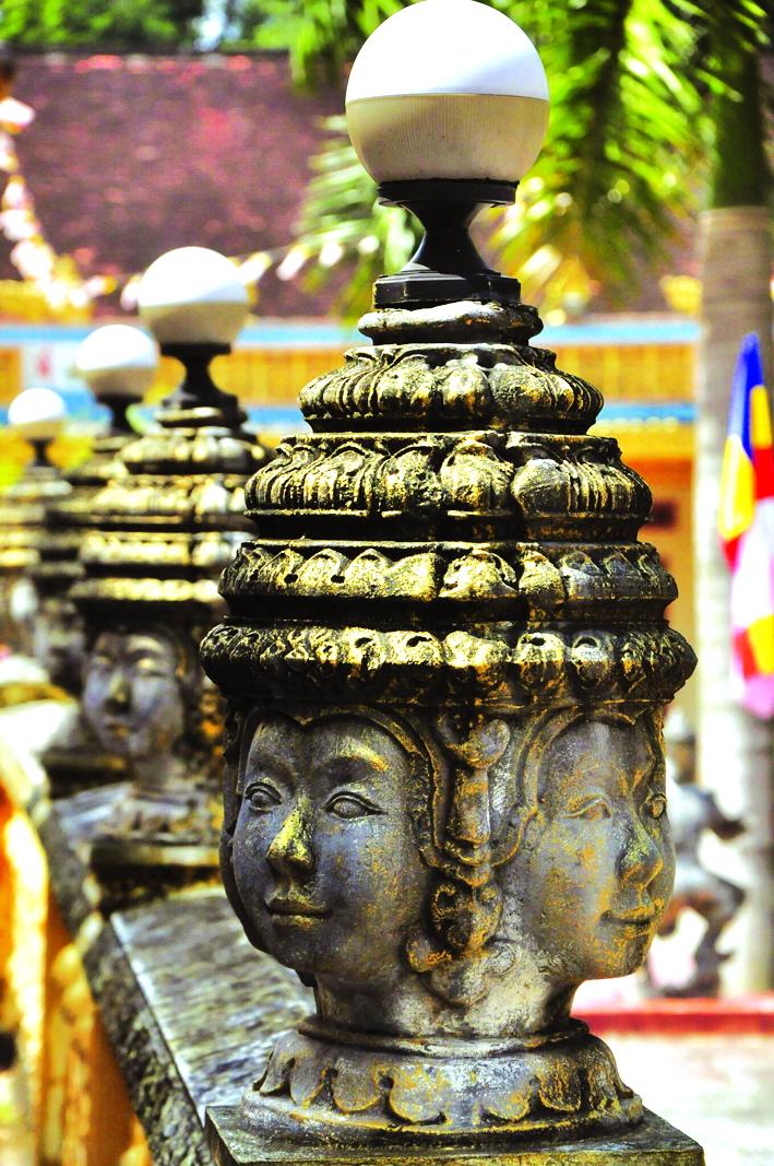 Một góc chùa Cò (còn gọi là chùa Nodol, chùa Giồng Lớn)