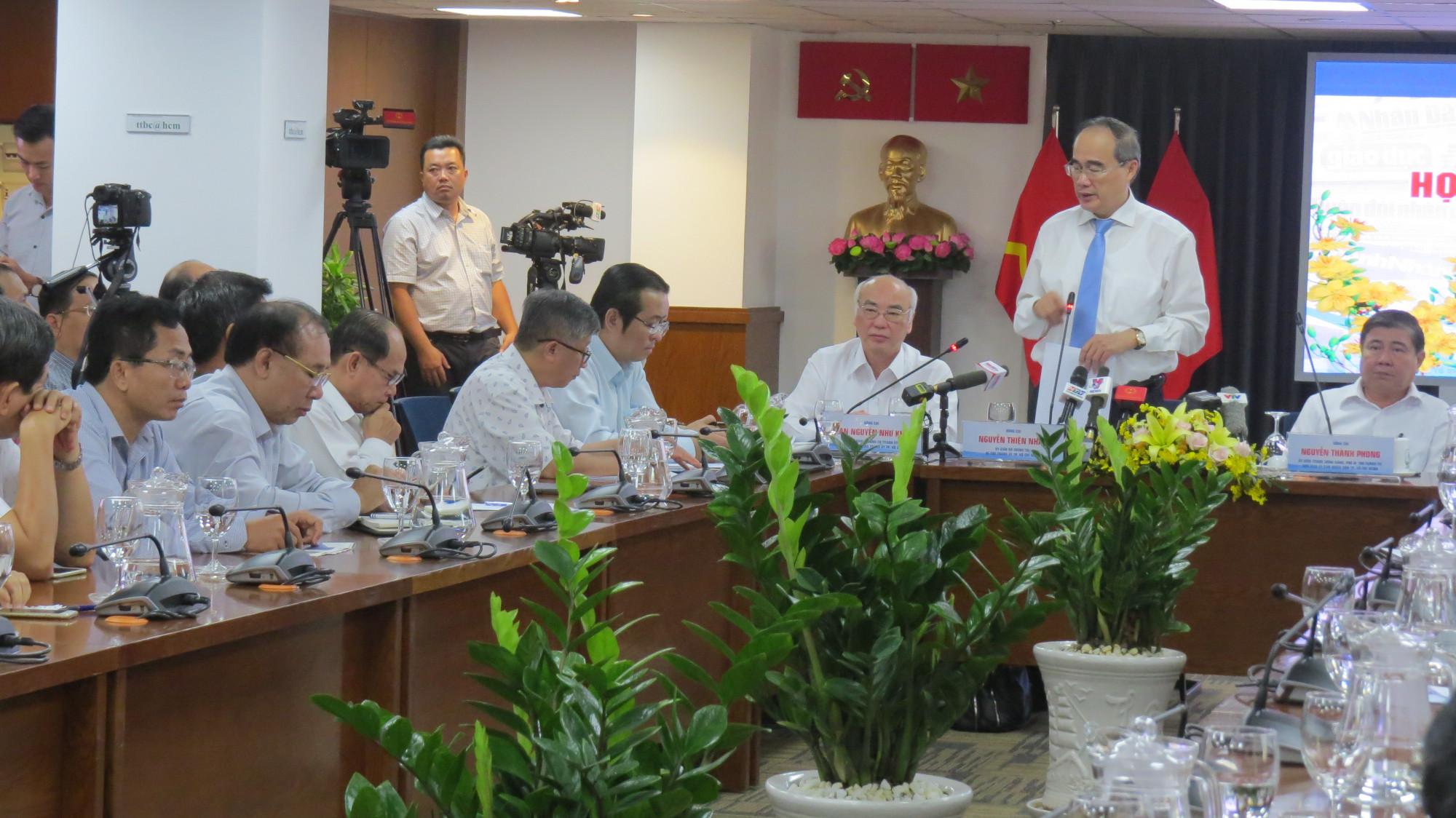 Bí thư Thành ủy TPHCM Nguyễn Thiện Nhân cho rằng, nguồn lực để phát triển thành phố tới đây