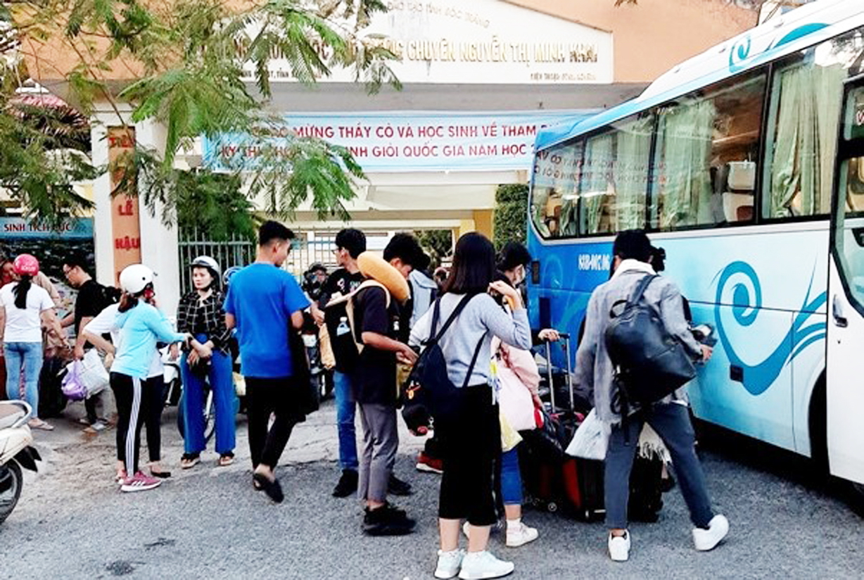 Học sinh Trường THPT chuyên Nguyễn Thị Minh Khai tham gia chuyến trải nghiệm tại Đà Lạt