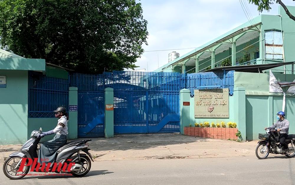 Trung tâm Hỗ trợ xã hội TPHCM - nơi xảy ra vụ Nguyễn Tiến Dũng dâm ô ít nhất 3 trẻ em trong đêm trực của mình - Ảnh: Hiếu Nguyễn