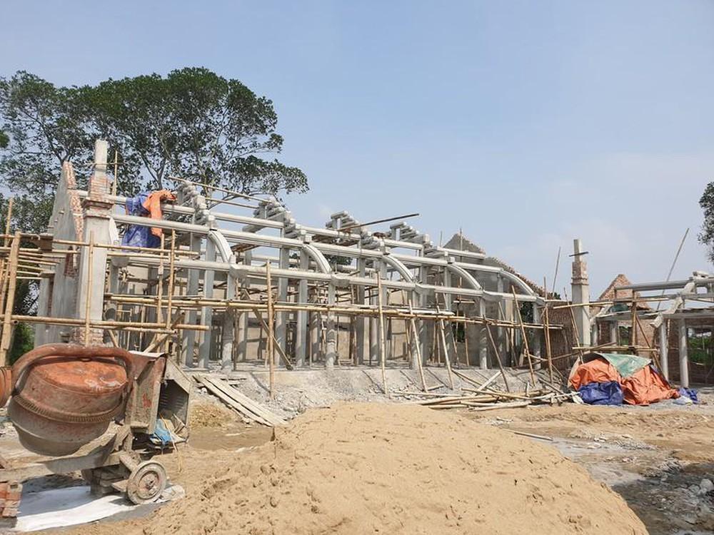 Chùa Linh Sâm được xây 'chui' trên diện tích hàng nghìn mét vuông.