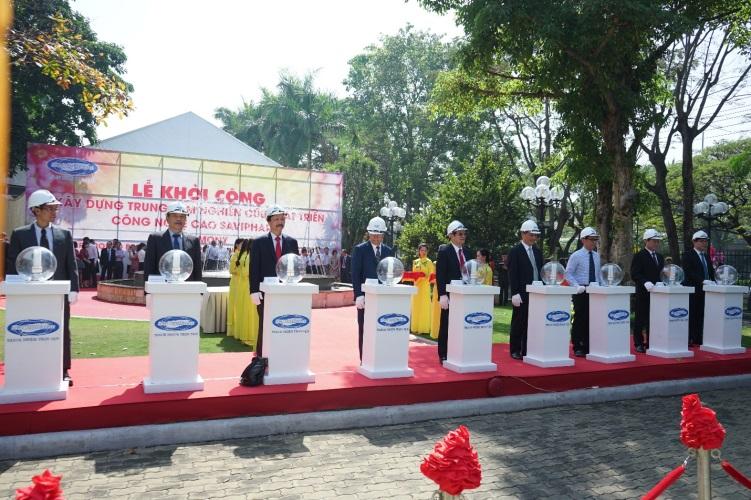Nghi thức khởi công xây dựng Trung tâm NCPT CNC SaVipharm