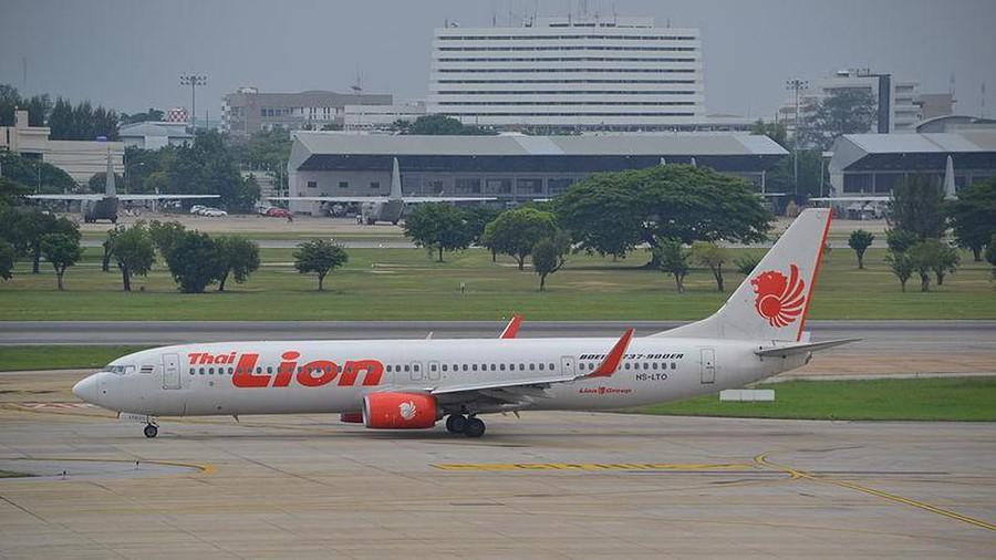Thai Lion Air chặn đường cất cánh của máy bay khác tại sân bay Nội Bài. Ảnh: minh hoạ