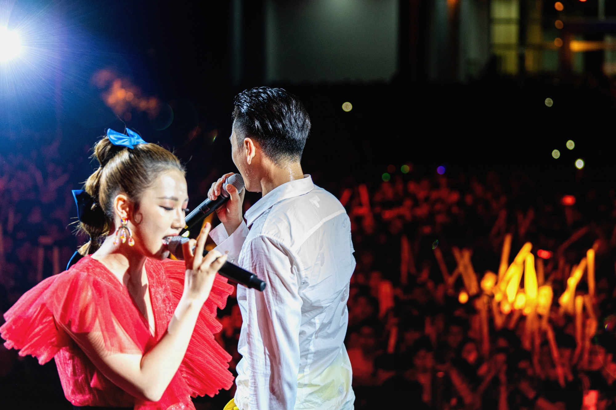 Amee tong năm qua ra mắt nhiều ca khúc được giới trẻ yêu thích