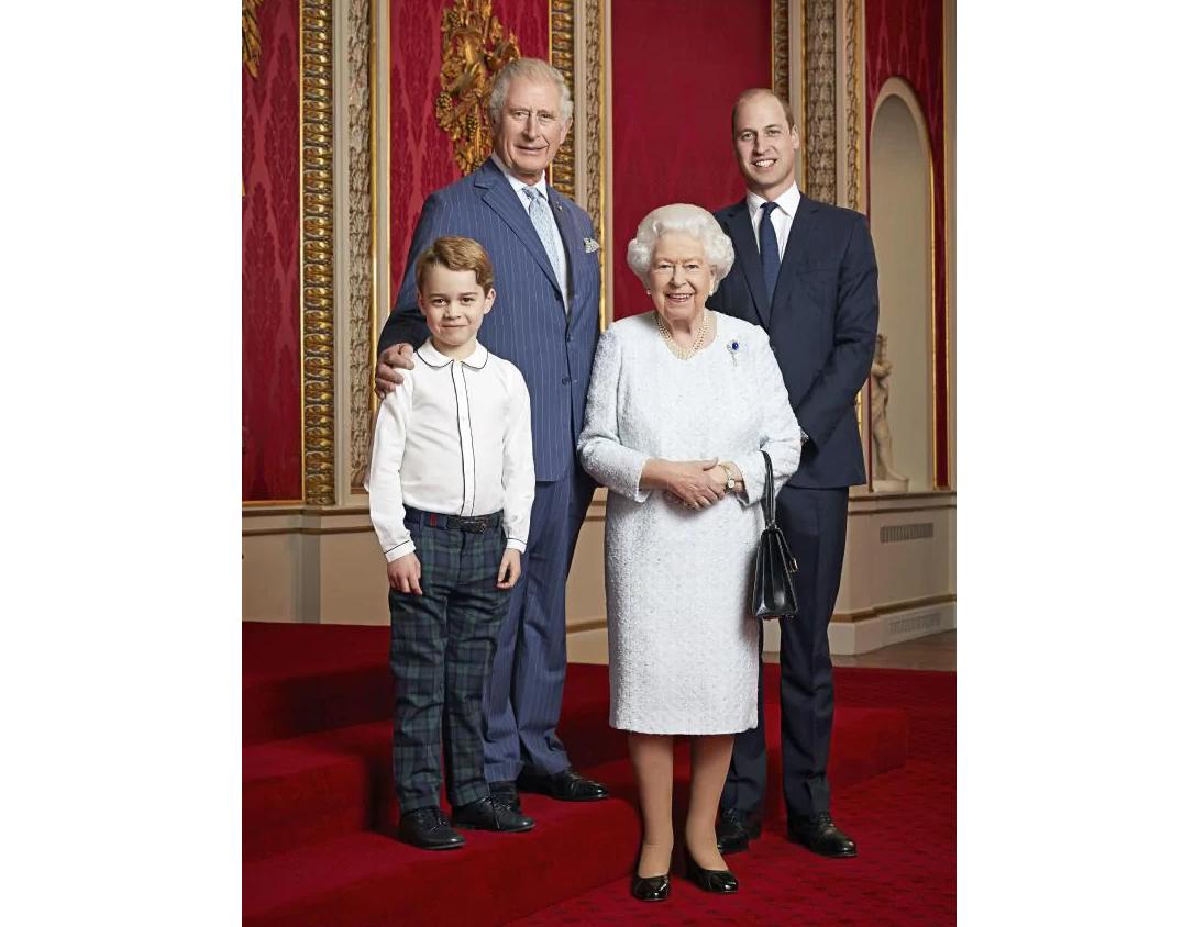Ảnh dòng kế vị được cho là đã khiến Meghan và Harry buồn bã được cập nhật sau khi có bức ảnh được công bố trước đó vào năm 2015 - Ảnh: Getty Images/Ranald Mackechnie