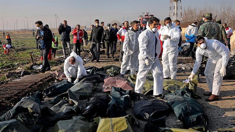 Những ngày trước, phía Iran liên tục bác bỏ thông tin cho rằng chính nước này đã bắn hạ máy bay.