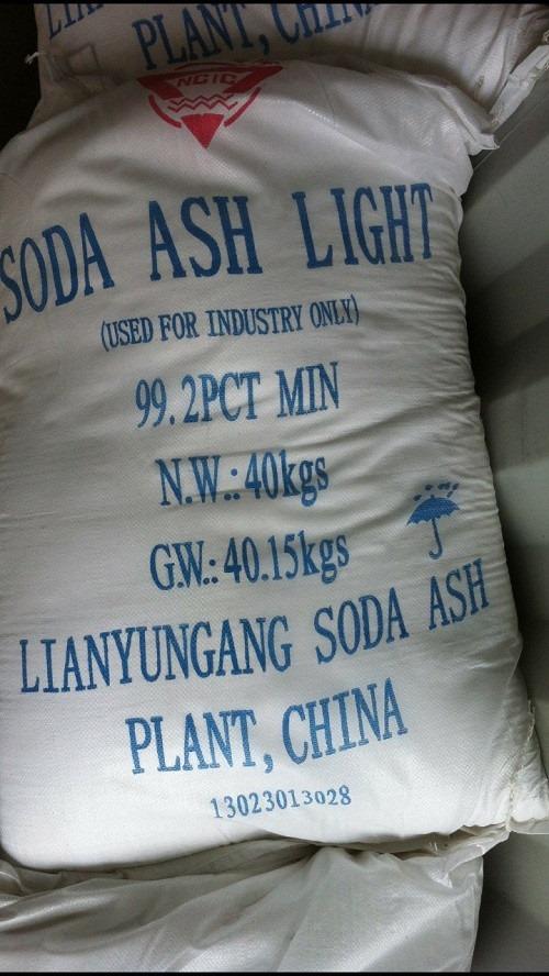 Các đơn vị này đã sử dụng Soda công nghiệp để sản xuất