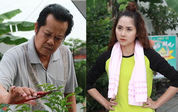 NSND Thanh Nam và Tường Vi đóng vai cha con trên phim