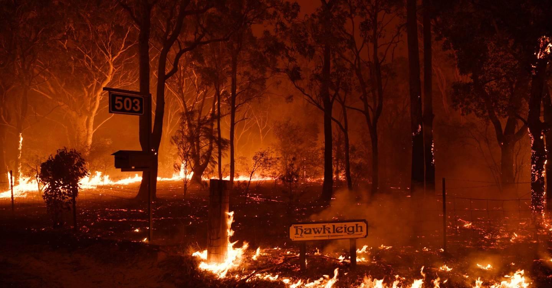 Nhờ thời tiết thuận lợi, lực lượng cứu hỏa đã kiểm soát được đám cháy