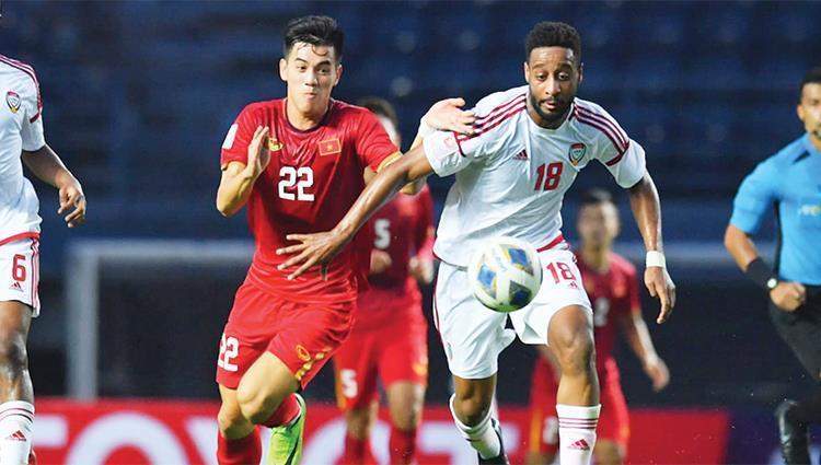 Với kết quả hoà, Việt Nam có được 2 điểm sau 2 lượt trận