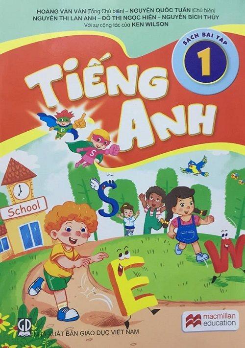 SGK tiếng Anh của nhóm tác giả Việt Nam, này nằm trong khung chương trình của đề án Ngoại ngữ Quốc gia 2020 do Chính phủ ban hành.