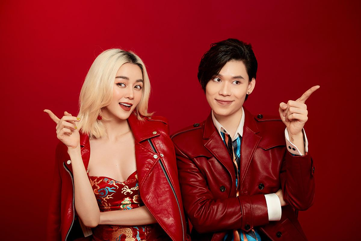 Mới đây, cả hai vừa cho ra mắt MV Tết lại đến rồi, đánh dấu lần hợp tác chính thức đầu tiên.