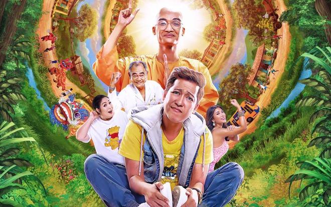 Poster phim mới của Trường Giang, dự kiến ra mắt mùa Tết năm nay.