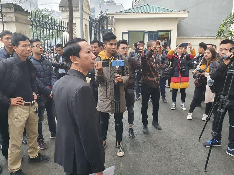 Phiên tòa xét xử được nhiều sự quan tâm của báo chí