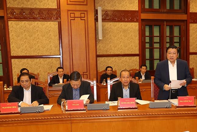 Tính từ đầu nhiệm kỳ Đại hội XII của Đảng đến nay đã thi hành kỷ luật hơn 90 cán bộ thuộc diện Trung ương quản lý