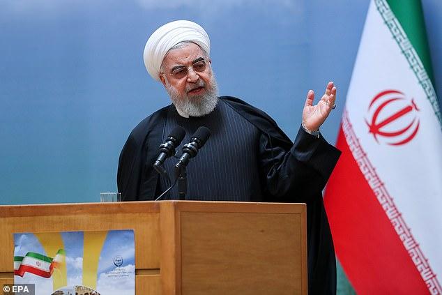 Tổng thống Hassan Rouhani đưa ra lời đe dọa đến các nước châu Âu sau khi Anh, Pháp và Đức tạo sức ép về việc Iran theo đuổi chương trình làm giàu hạt nhân.