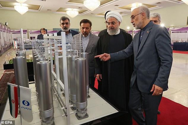 Iran đang theo đuổi chương trình hạt nhân riêng, nhưng khẳng định quốc gia không có ý định phát triển vũ khí hạt nhân.