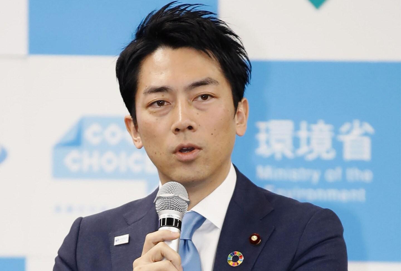 Bộ trưởng Môi trường Nhật Bản Shinjiro Koizumi. Ảnh: AP