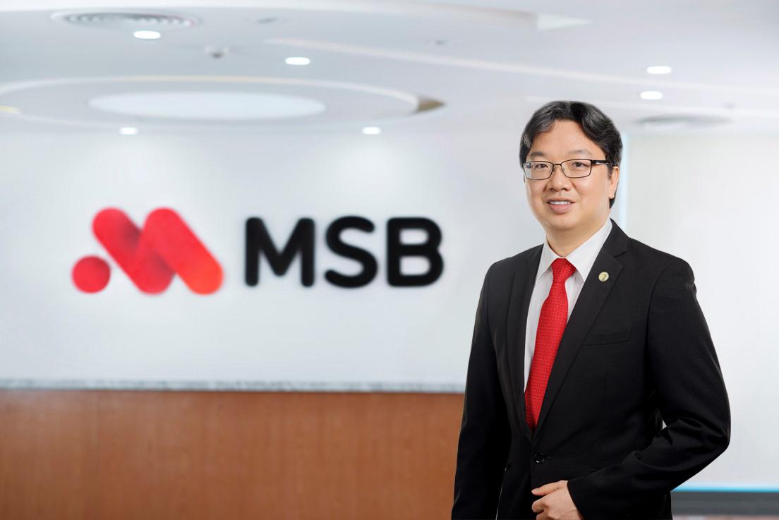 Ông Nguyễn Hoàng Linh được bổ nhiệm vị trí quyền Tổng giám đốc Ngân hàng MSB