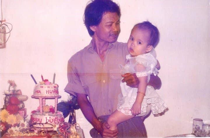 Hai cha con nhạc sĩ Triều Dâng, Sa Huỳnh - Ảnh: Tư liệu gia đình