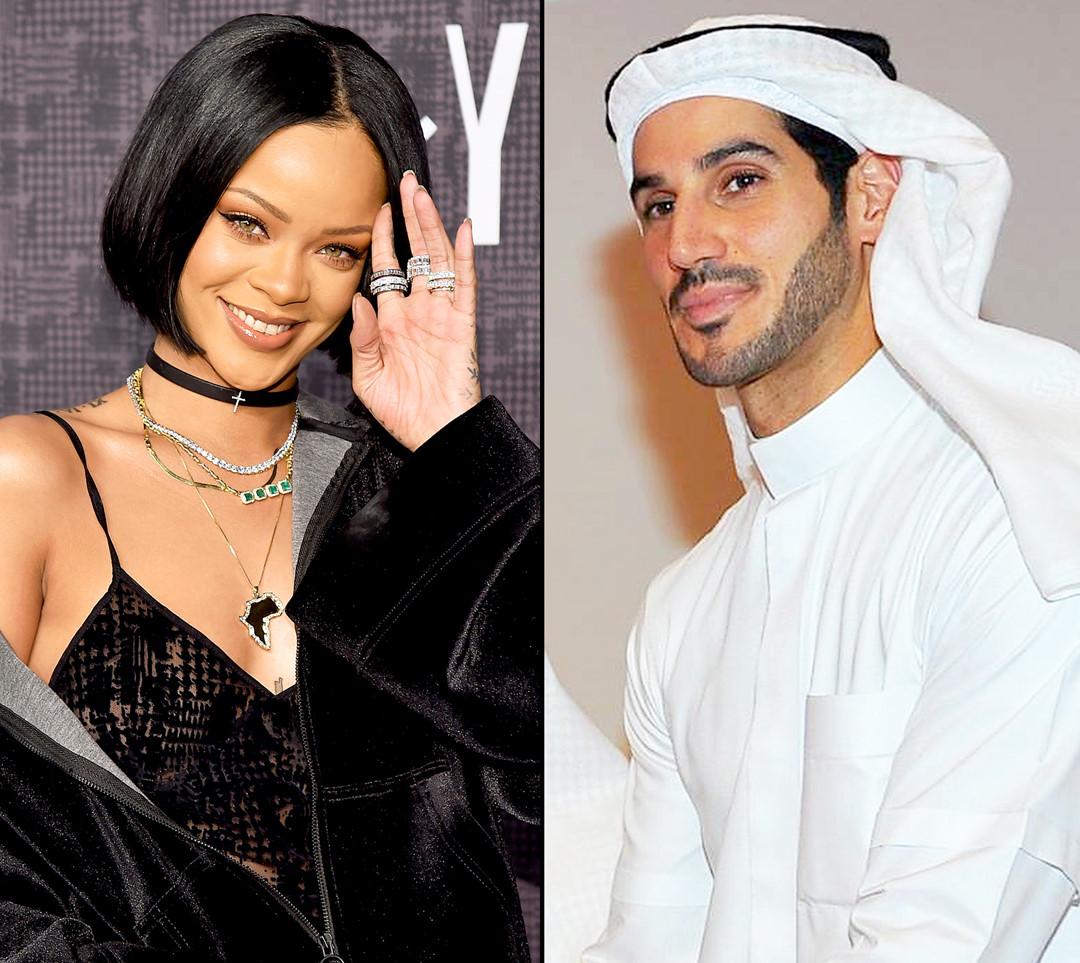 Rihanna và bạn trai tỉ phú Hassan Jameel