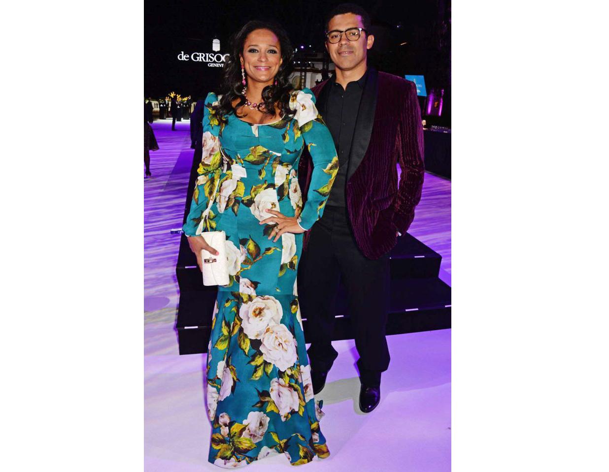 Isabel dos Santos và chồng Sindika Dokolo thường xuất hiện tại các buổi chiếu ra mắt phim và liên hoan phim bên cạnh các ngôi sao thế giới – Ảnh: Getty Images