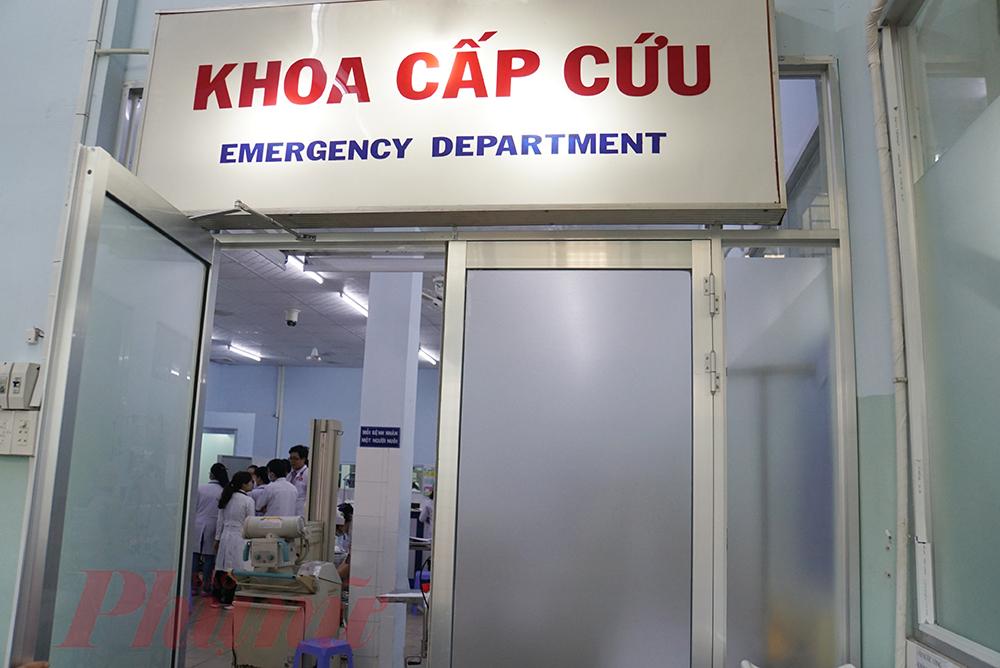 Càng gần đến Tết, trẻ đến cấp cứu tại Bệnh viện Nhi Đồng 1 đang có dấu hiệu tăng lên.