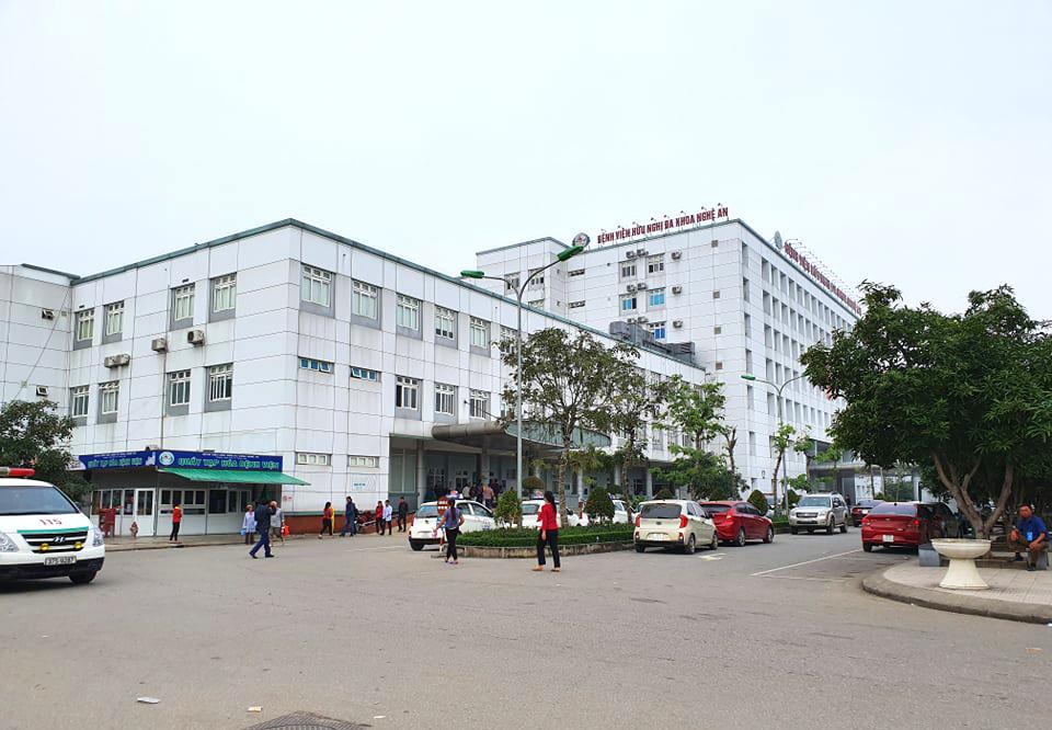 Bệnh viện Hữu nghị đa khoa Nghệ An