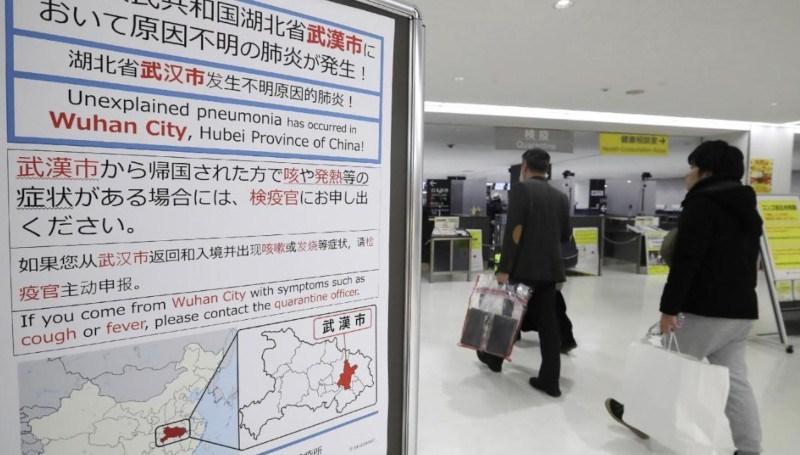 Hầu như mọi sân bay đều đã tăng cường kiểm tra sức khỏe đối với hành khách từ Vũ Hán.