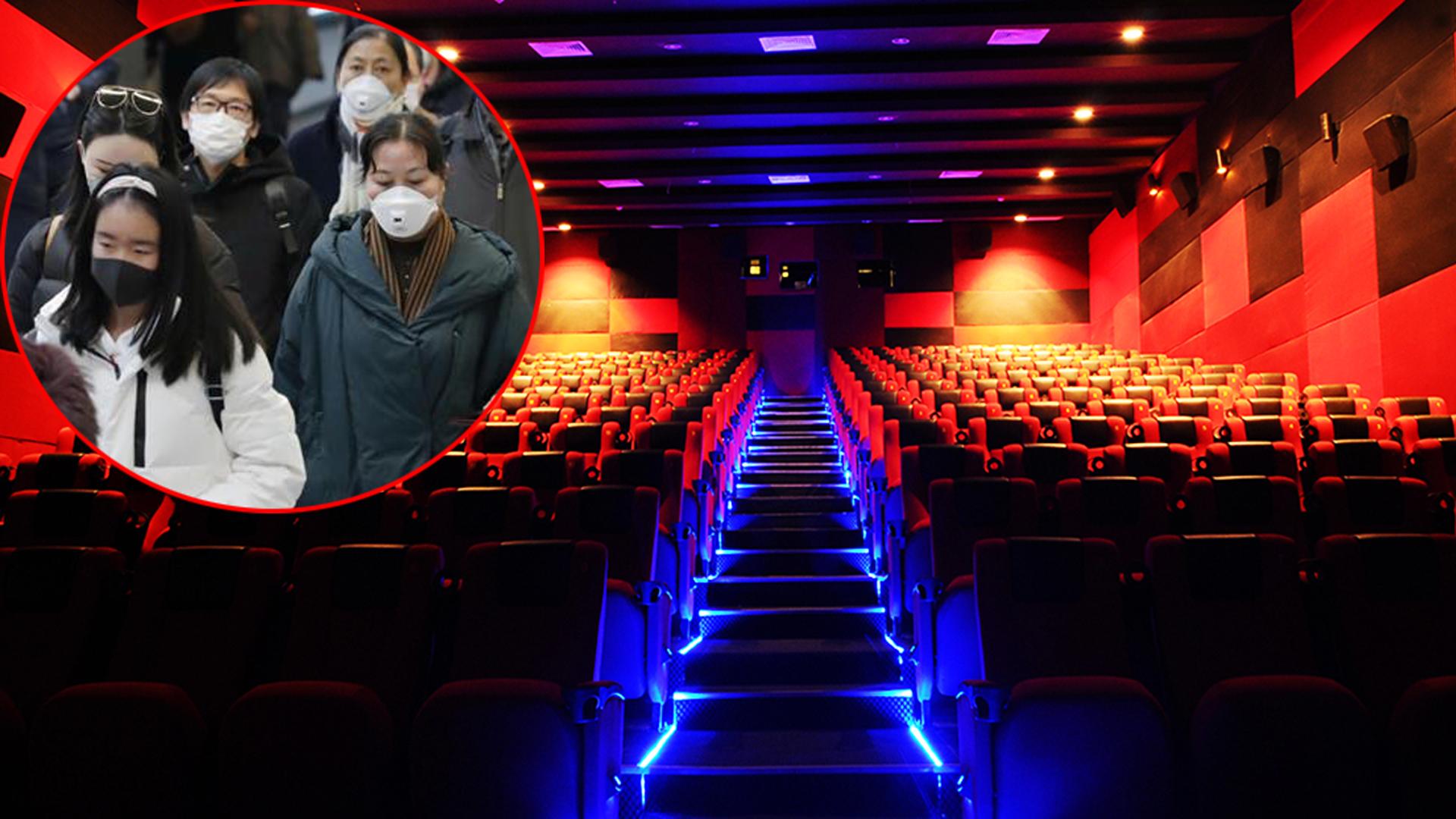 70.000 rạp phim ở Trung Quốc bị đóng cửa vì đại dịch corona.