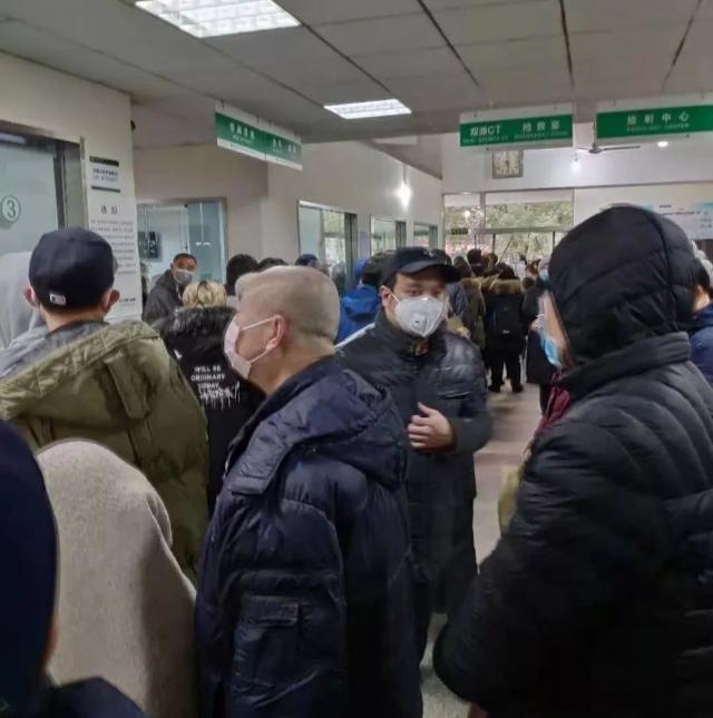Tình trạng quá tải chung của các bệnh viện tại Vũ Hán