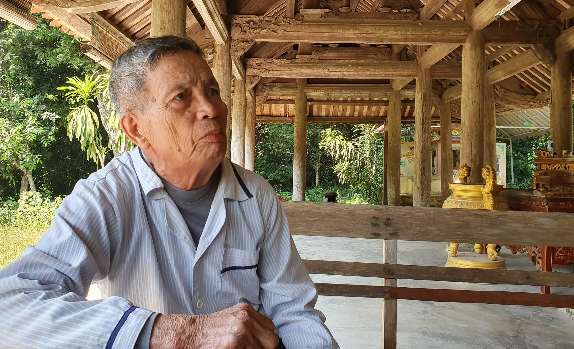 Cụ Định kể lại những kí ức gắn liền với cánh rừng lim