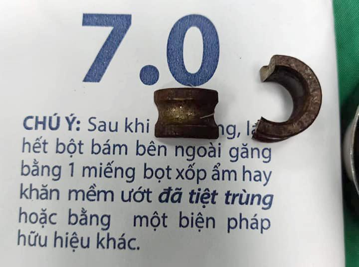 Vòng bi sắt được tháo ra ngoài