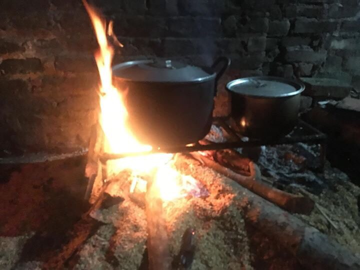 Bếp lửa của mẹ