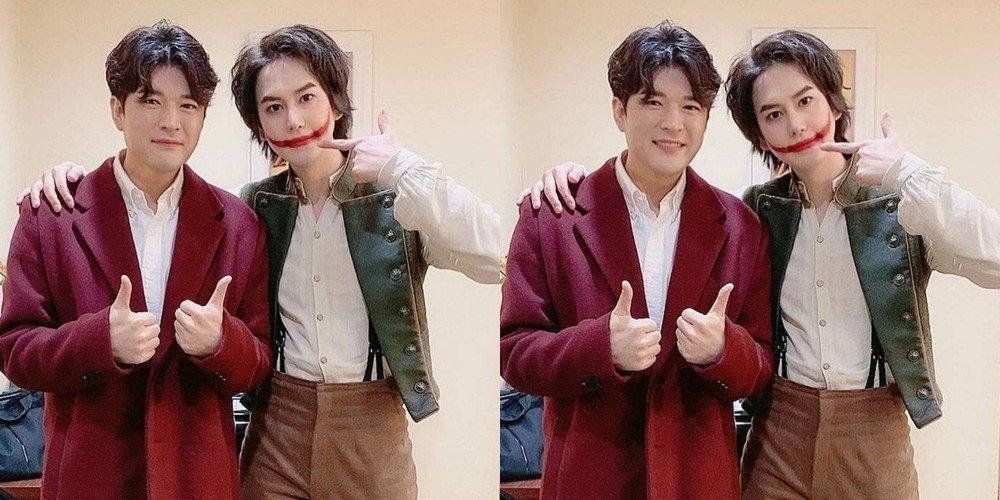 Shindong (Super Junior) giảm cân thành công, thân hình nam ca sĩ thon thả và sành điệu hơn với chiếc áo khoác màu rượu. Nhiều khán giả gửi lời chúc may mắn đến anh trong hành trình ăn kiêng còn lại (anh vẫn chưa hoàn thành được số kg mục tiêu đề ra ban đầu).