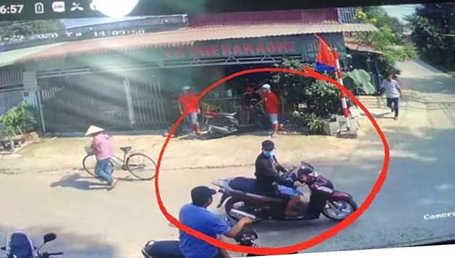 Hình ảnh hung thủ bị camera gi lại trên đường chạy trốn