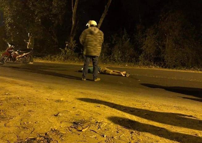 Hiện trường vụ nổ súng vào khoảng 0h ngày 30/1 trên địa bàn